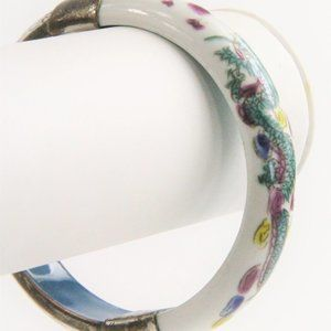 Jewelry - VINTAGE CHINESE EXPORT DRAGON BANGLE
